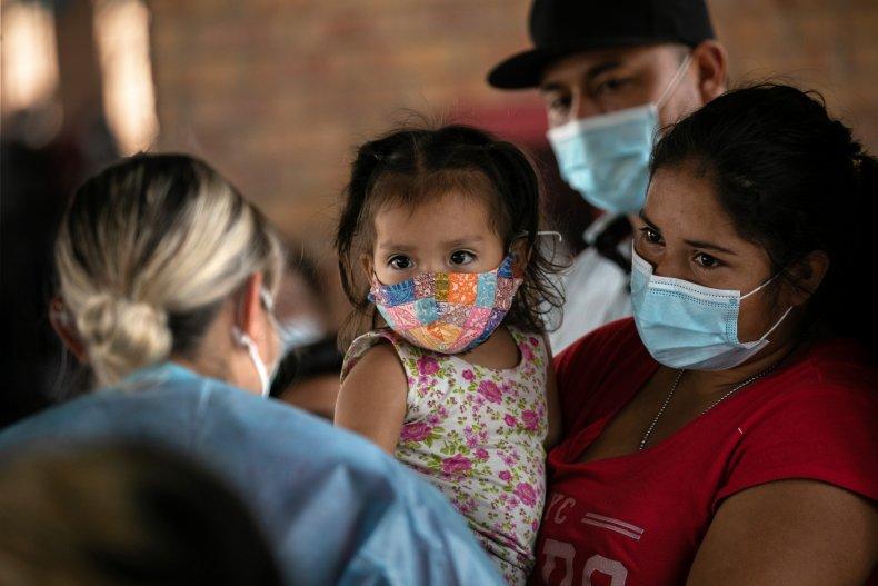Biden immigrant immigration child children camp facility