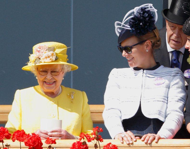 Queen Elizabeth II and Zara Tindall