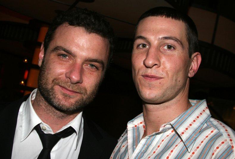 Liev Schreiber and Pablo Schreiber
