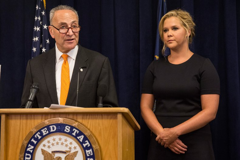 Chuck Schumer and Amy Schumer