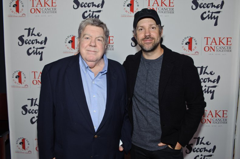 George Wendt and Jason Sudeikis