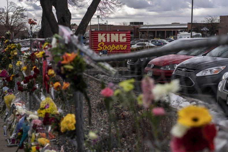 Memorial at King Soopers Boulder