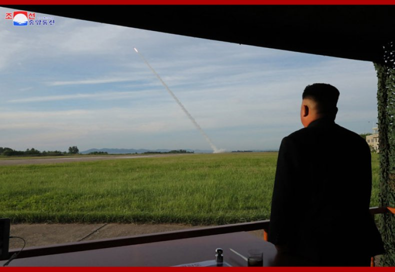north, korea, rocket, launch, kim, august, 2020