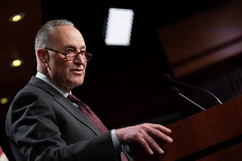 Senate Majority Leader Chuck Schumer
