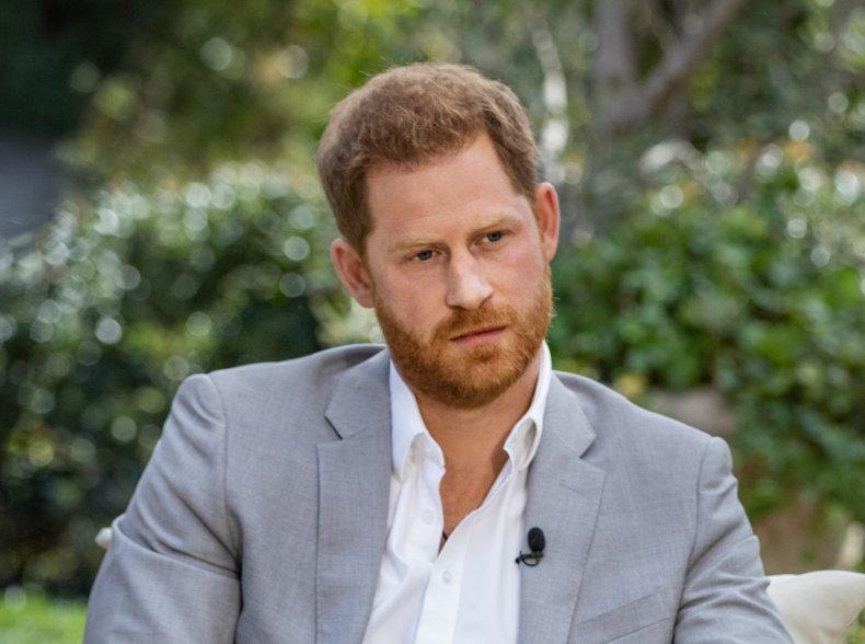 Prince Harry Interviewed by Oprah Winfrey