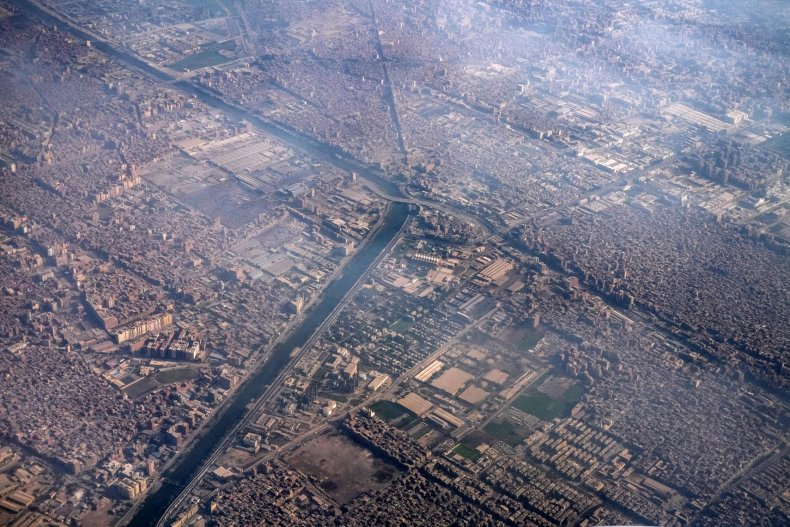 Ismailia canal in Cairo Egypt 2021