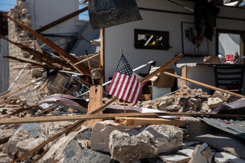 Thunderstorm Damage Texas