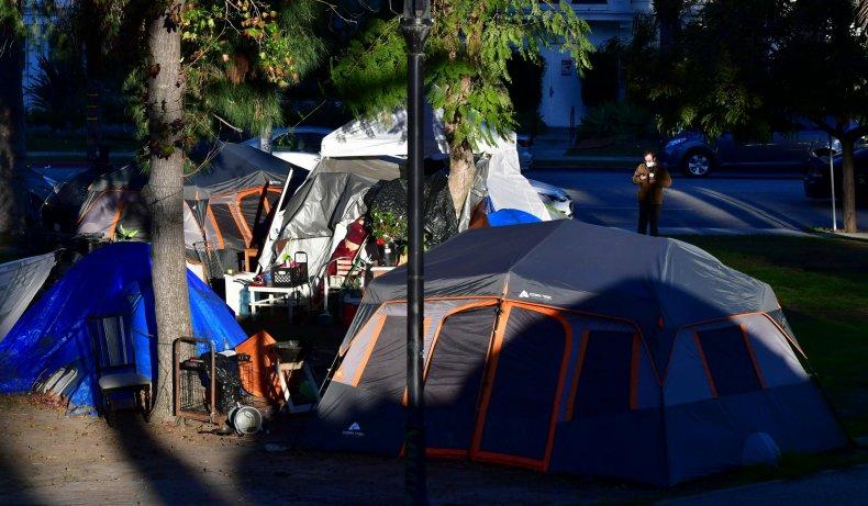 Echo Park homeless camp