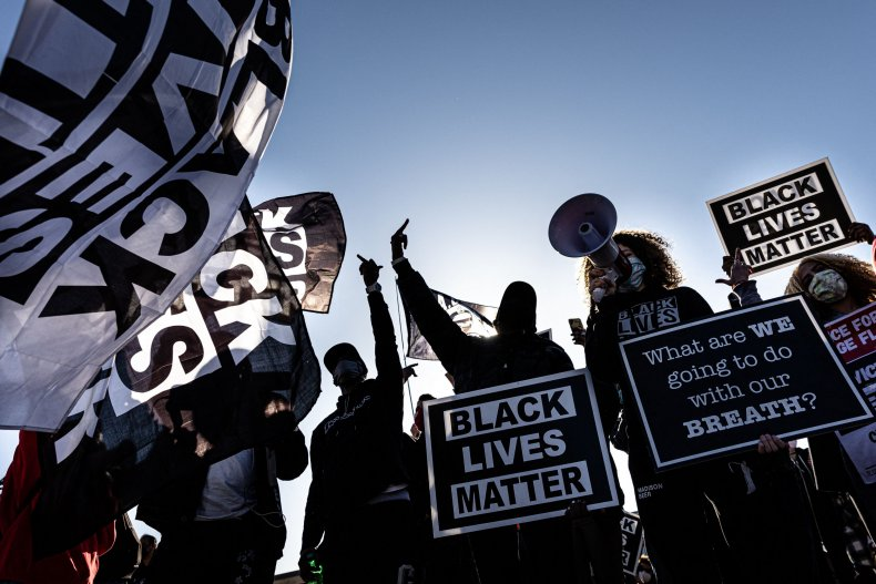 blm demonstrators in minnesota