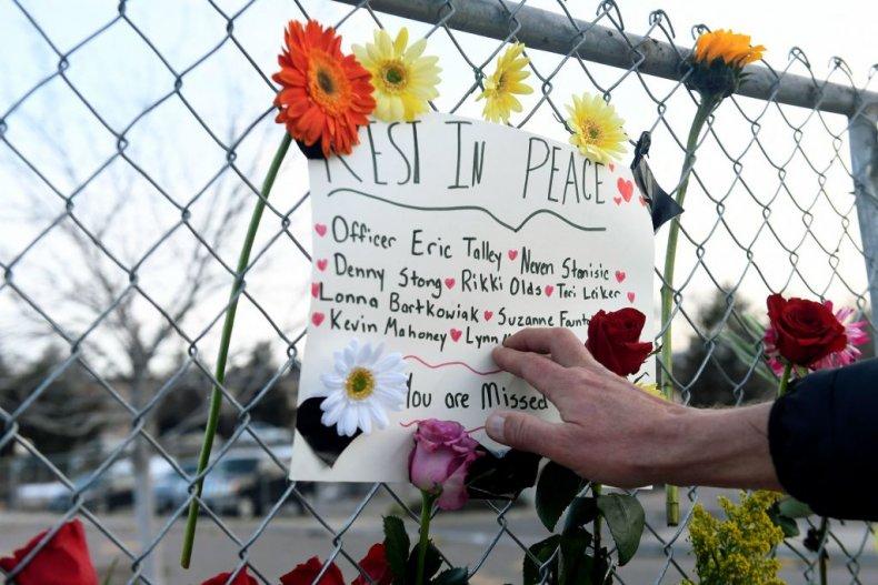Boulder mass shooting memorial