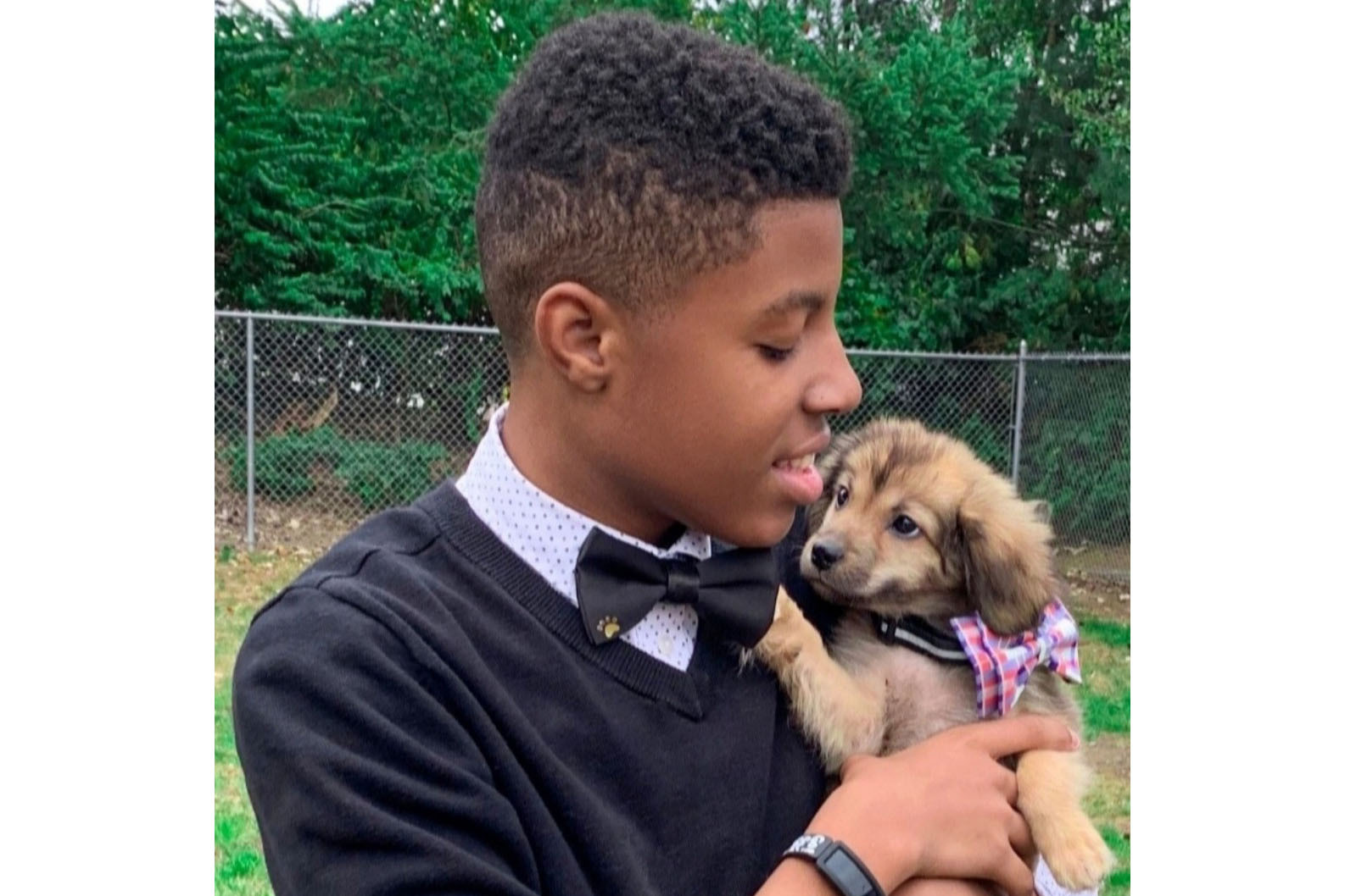 """I'm 14, I help rescue dogs by donating my handmade bow ties"""
