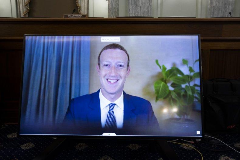 CEO of Facebook Mark Zuckerberg
