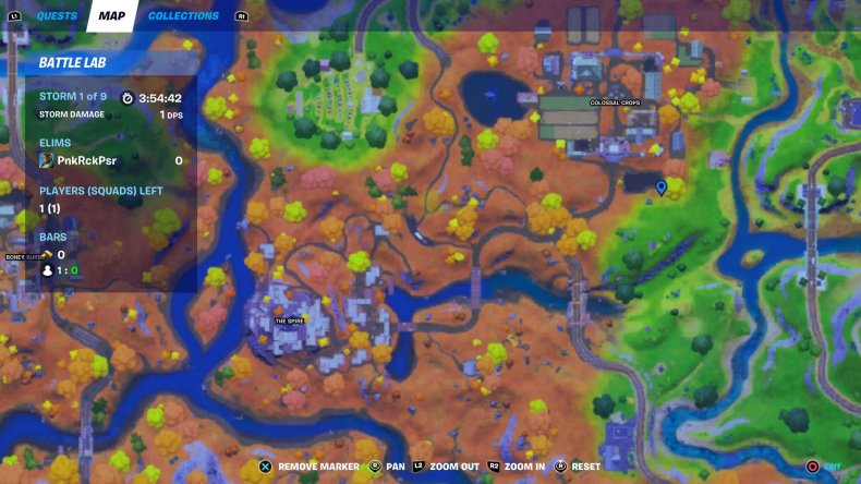 fortnite hunt fly chickens location 1