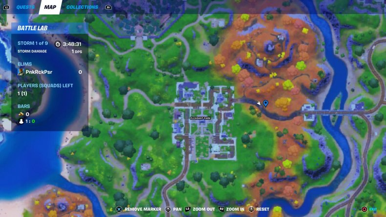 fortnite hunt fly chickens location 2