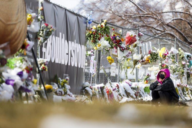 Memorial for Boulder victims