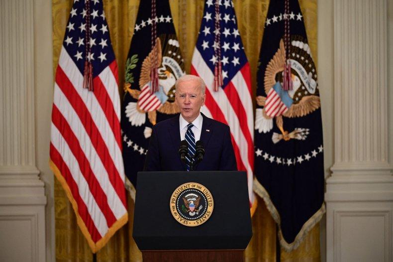 Joe Biden first solo presser