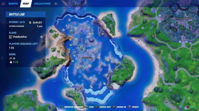 fortnite raptor location map