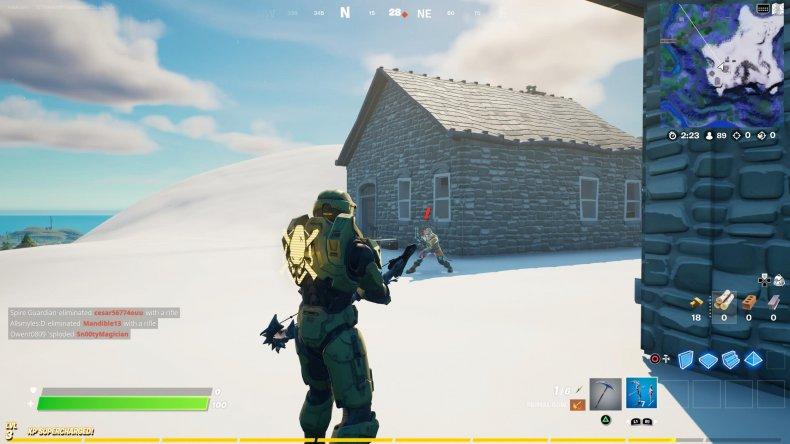 fortnite zenith location gameplay
