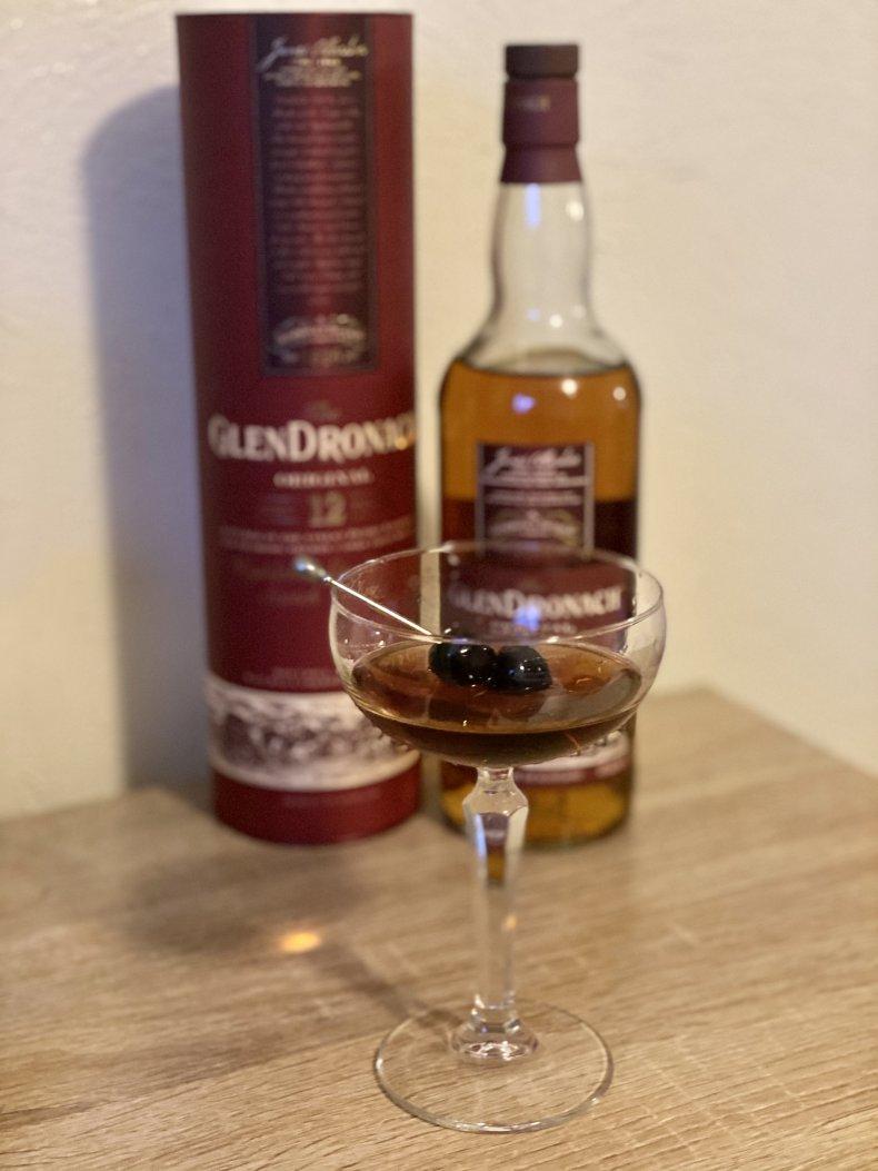 GlenDronach Original 12 Scotch Whisky Cocktail