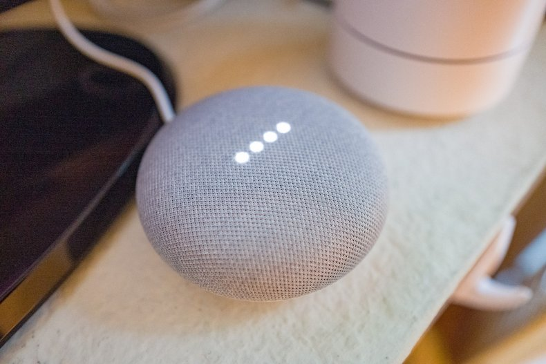 Google Home Mini smart speaker 2019