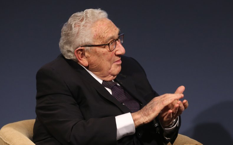 Henry Kissinger pictured in Berlin in 2020