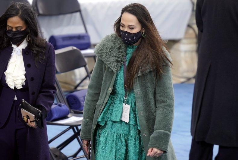 Meena Harris at Biden inauguration