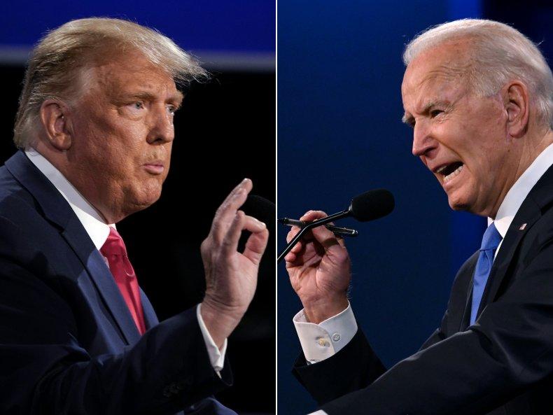 donald trump and joe biden debate