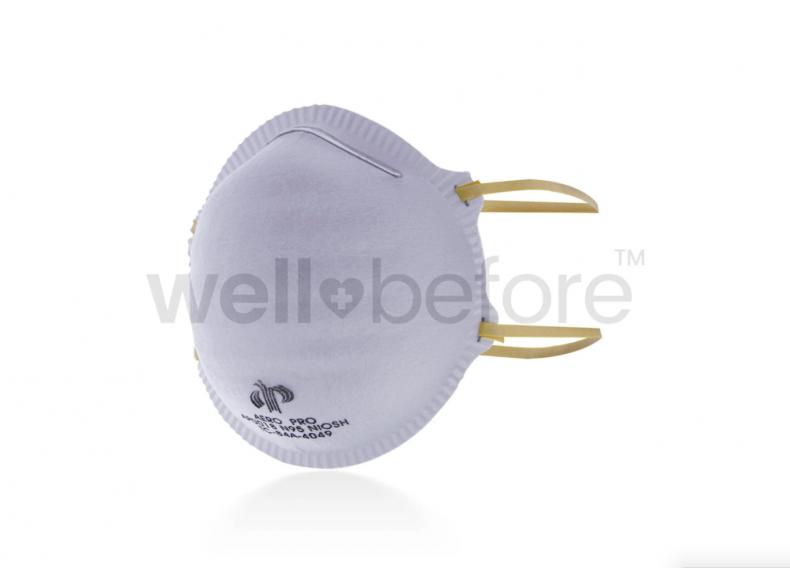 Cut of surgical mask Aero Pro AP0018 N95