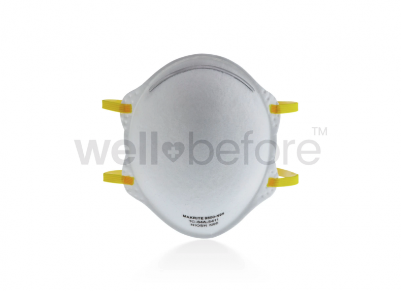 Makrite 9500 N95 Respirator Surgical Masks