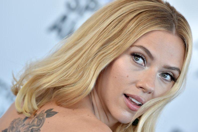 """Black Widow"" Star Scarlett Johansson"