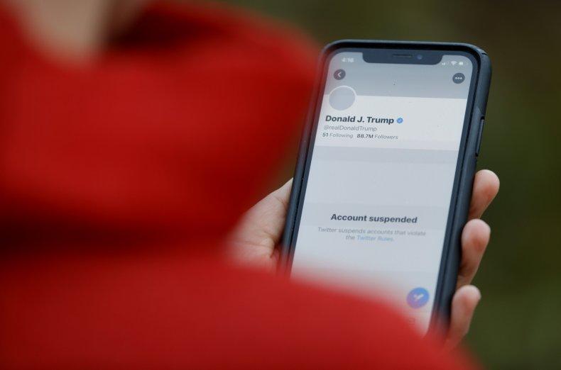 Donald Trump Twitter Suspension