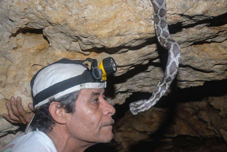 Biologist Arturo Enrique Bayona Miramontes