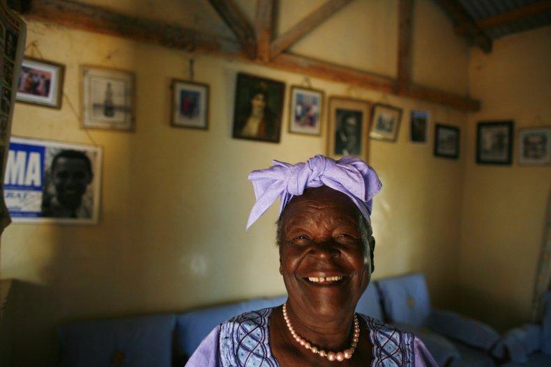 Sarah Obama, former president Barack Obama's step-grandmother