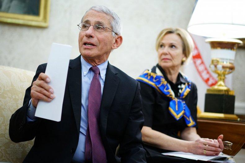 Dr. Anthony Fauci, Deborah Birx