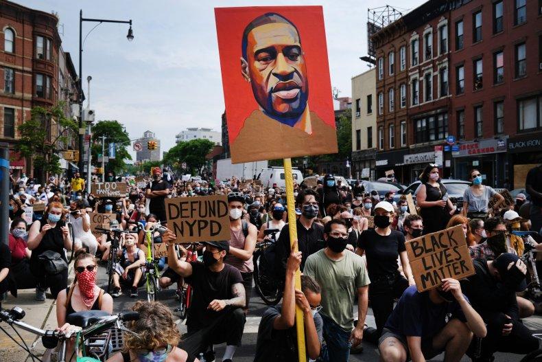 George Floyd BLM Protest