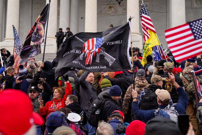 Far-right gathers in DC near Capitol