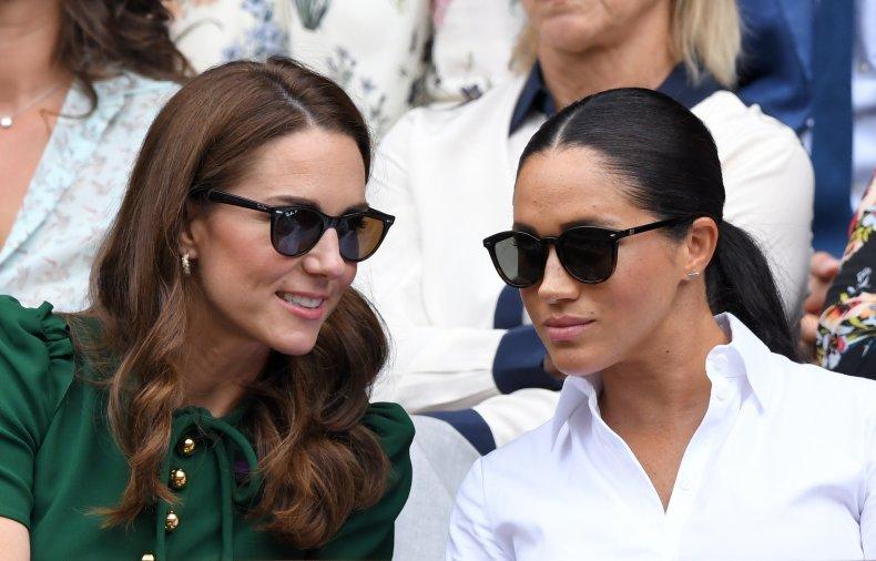 Kate Middleton, Meghan Markle at Wimbledon Tennis