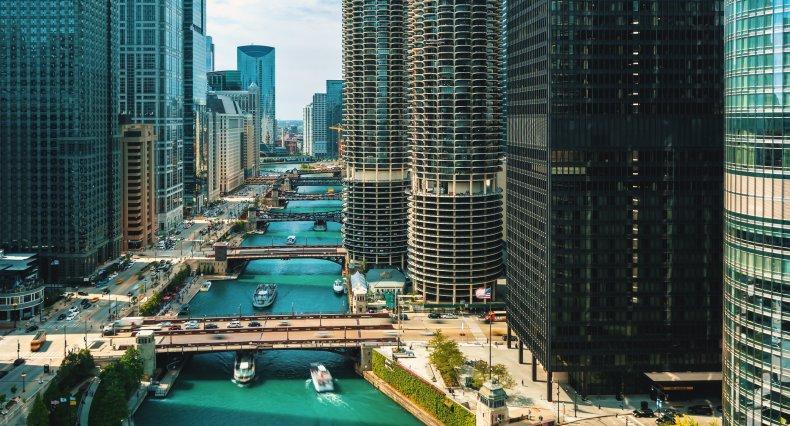 LA Chicago Illinois