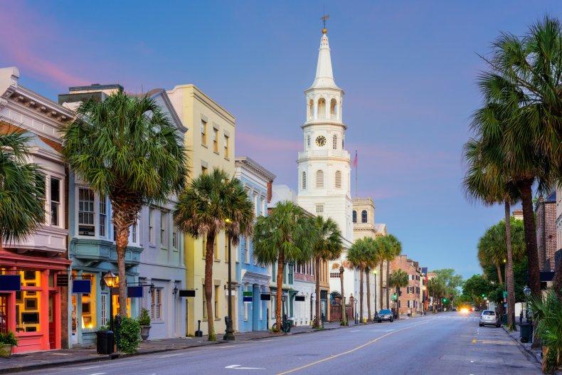 LA Charleston South Carolina