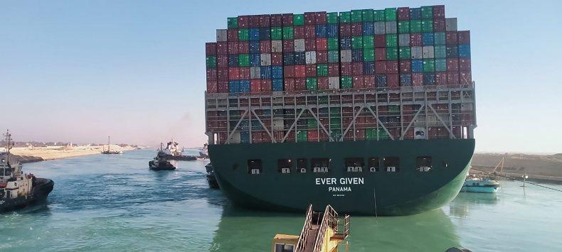 ever green ship suez canal free