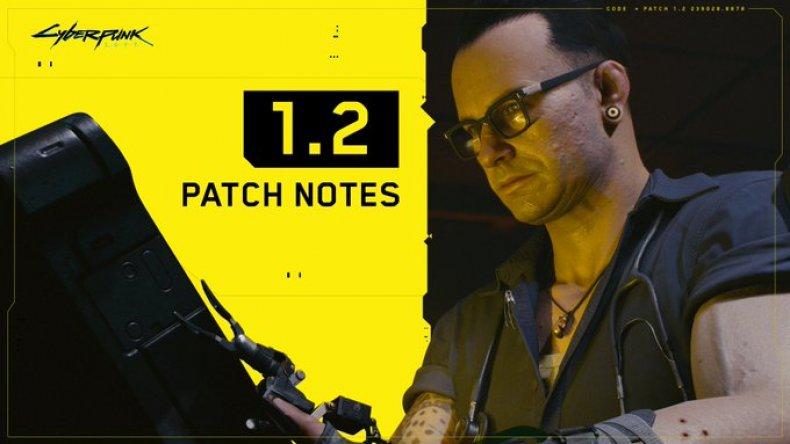 cyberpunk 2077 update version 1.2