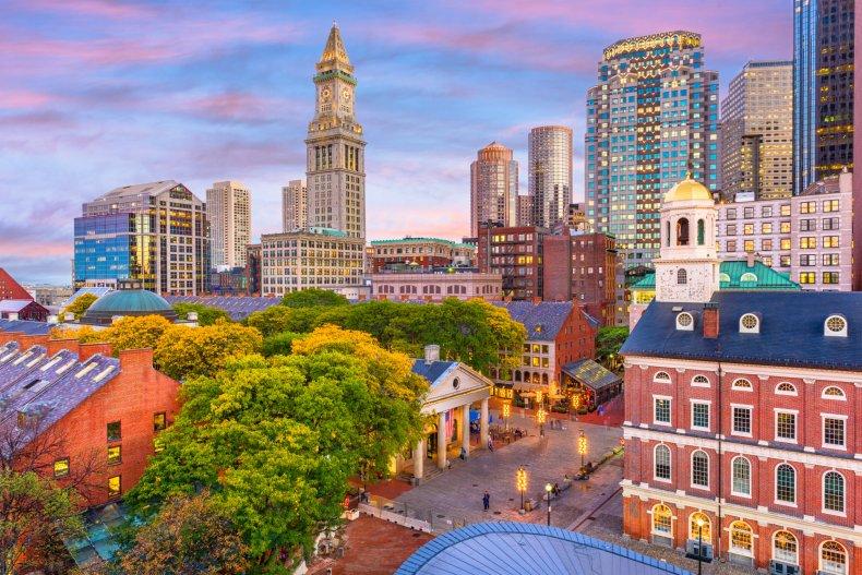 LA Boston Massachusetts