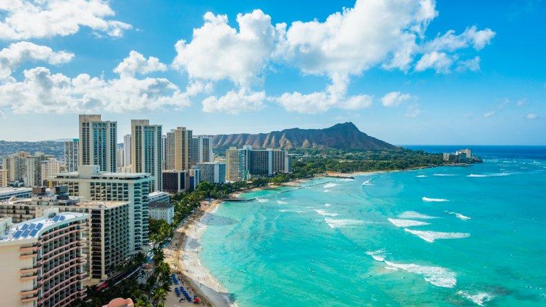 LA Honolulu Hawaii