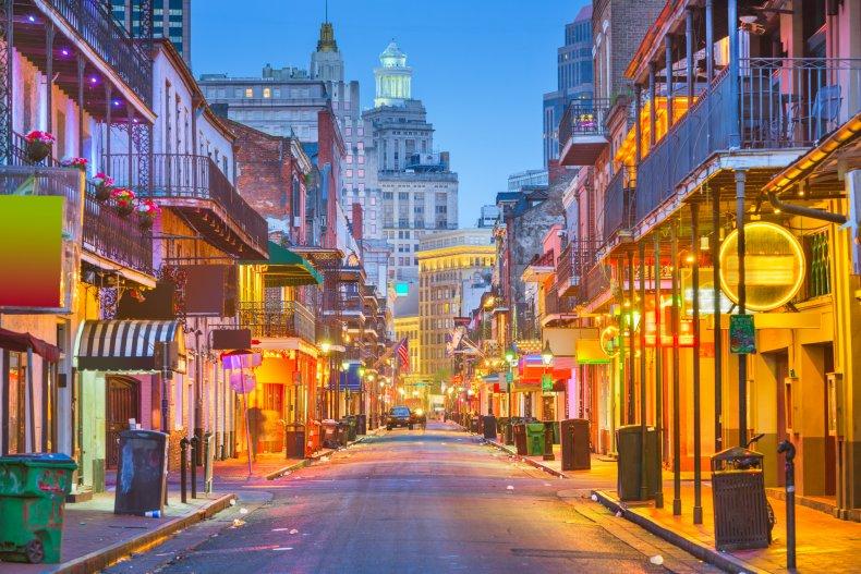 LA New Orleans Louisiana