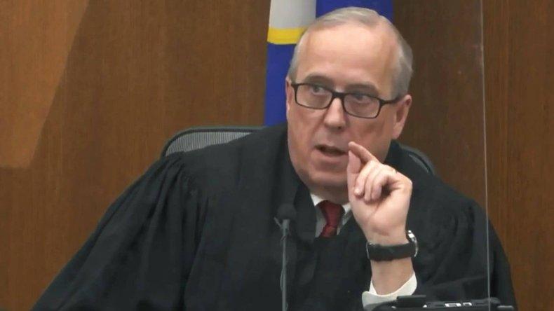 Peter Cahill judging over Derek Chauvin case