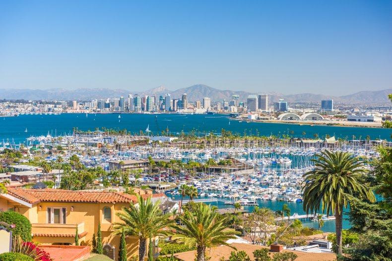LA San Diego California