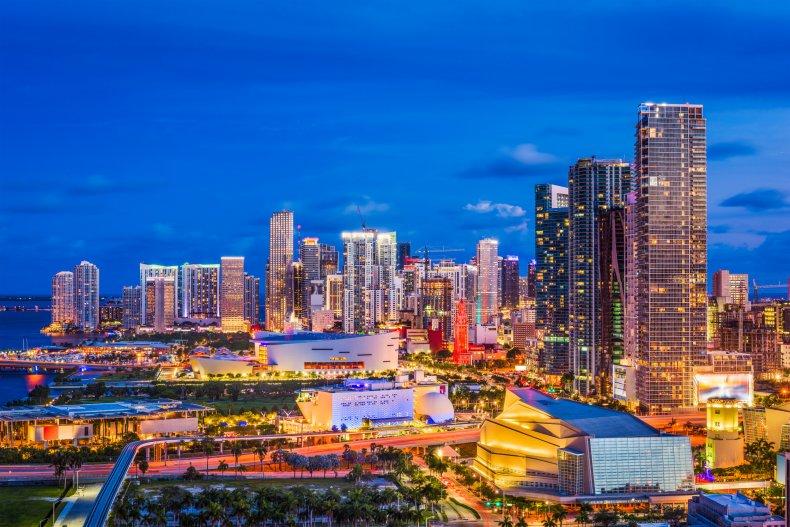 LA Miami Florida opener