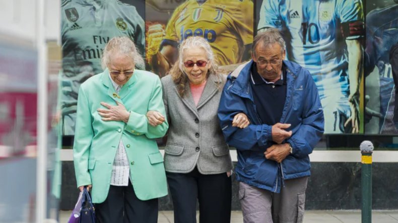 Senior Citizens Socializing