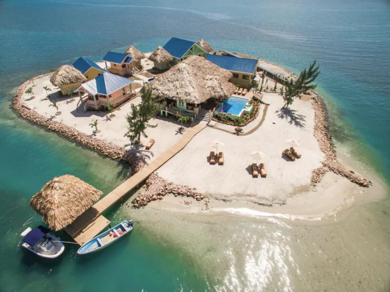 Private Caribbean Island: Placencia, Belize