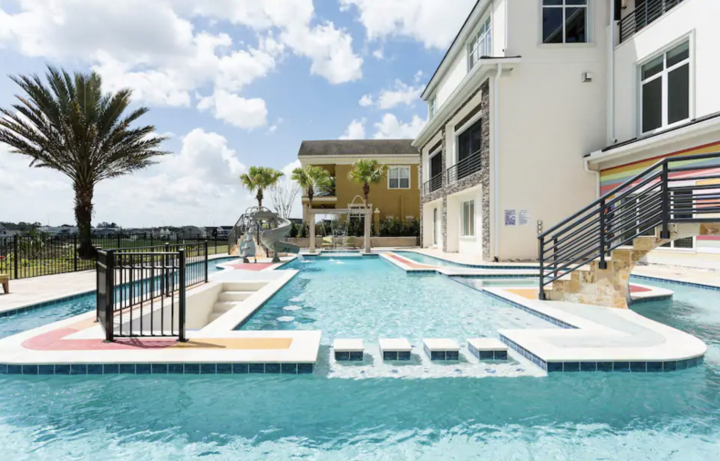 Luxe Mansion with Lazy River: Orlando, Florida
